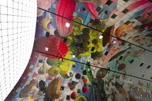 Markthal Rotterdam interieur panelen
