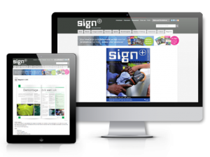 Sign+ Magazine digitaal abonnement