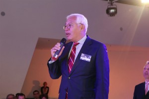 Voorzitter van de vakjury, Hwie-Yang Kwee.