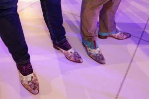 Schoenen geheel in stijl....