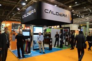 Caldera-stand op Fespa 2013