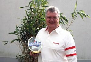 Mike Horsten van Mimaki met EDP Award