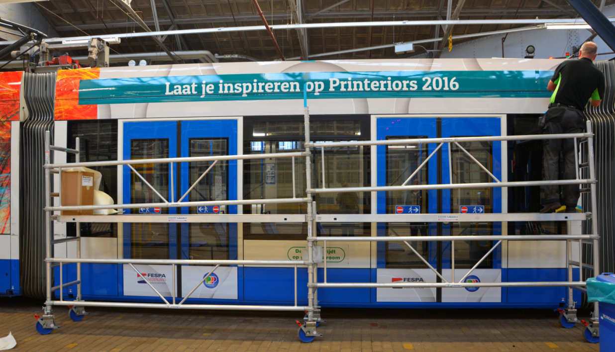 Plakken_Fespa_Nederland_Tram-B