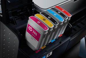 HP Vivid Photo Inks in HP DesignJet