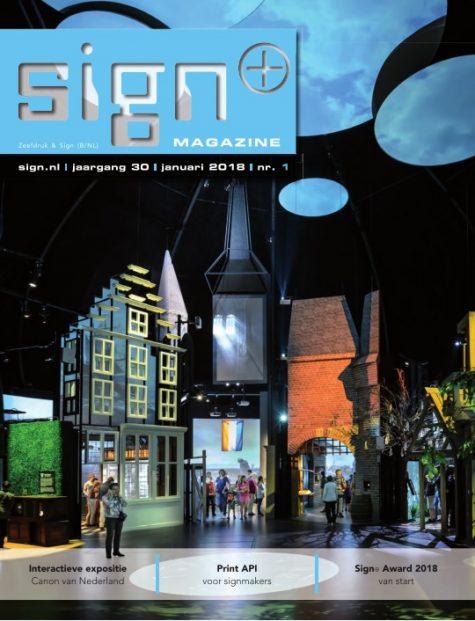 Sign+ Magazine 1 - 2018