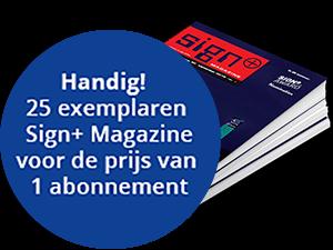 Sign+ schoolabonnement; per editie 25stuks voor de prijs van 1!